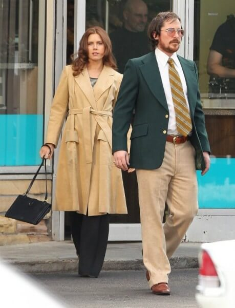 "Amy Adams & Christian Bale for David O'Russell untitled ""Abscam"" movie"