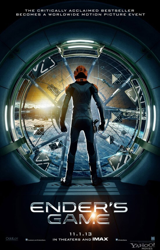 Ender's Game battle room poster