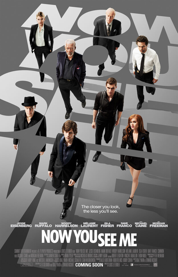 movie poster Now You See Me