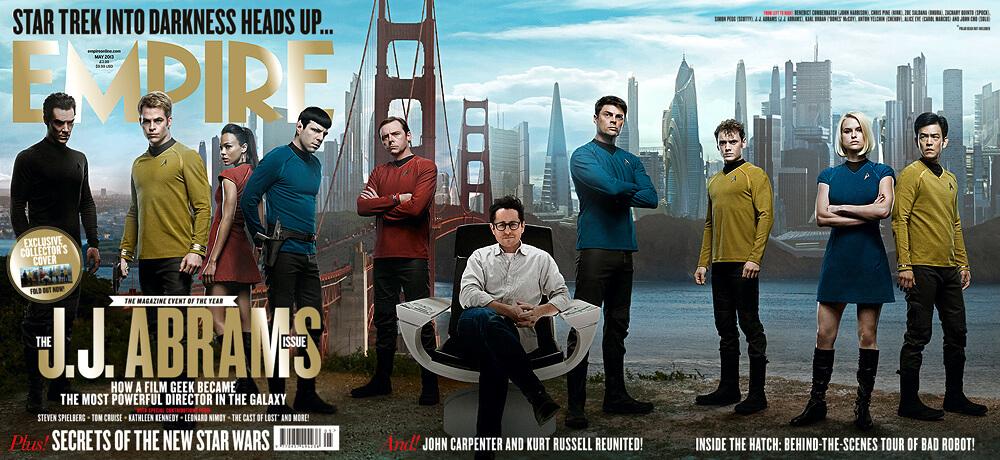 Empire Magazine Star Trek cover
