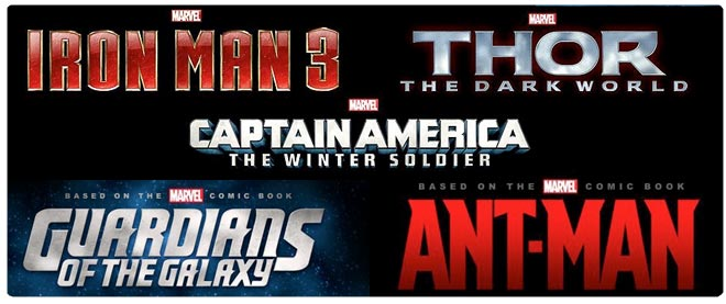Marvel Phase Two lineup
