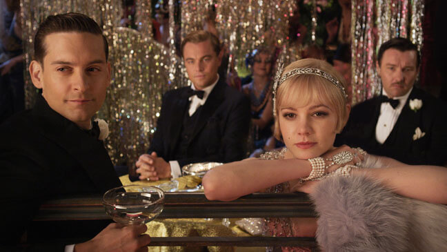 The Great Gatsby film header image