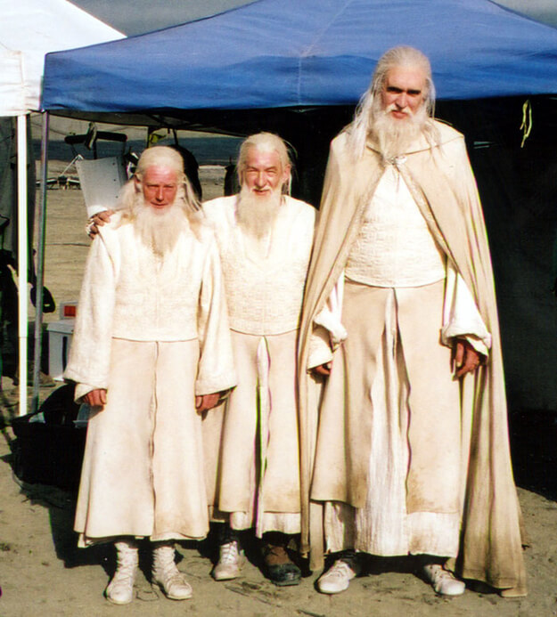 lord of the rings gandolf behind the scenes