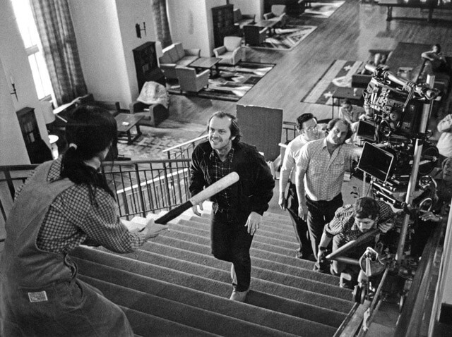 the shining behind the scenes