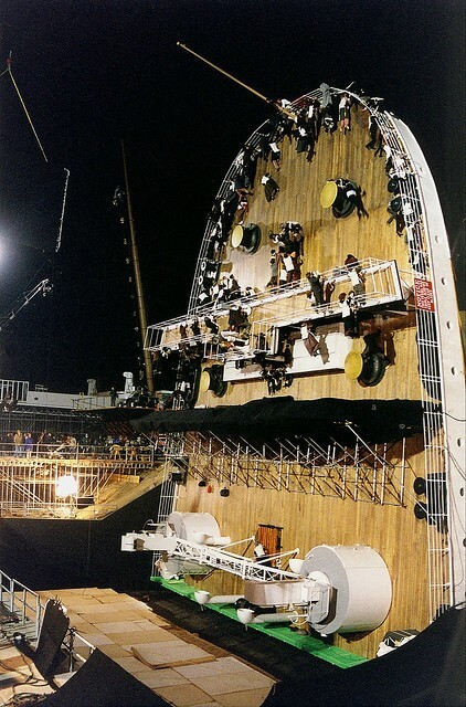 titanic ship behind the scenes