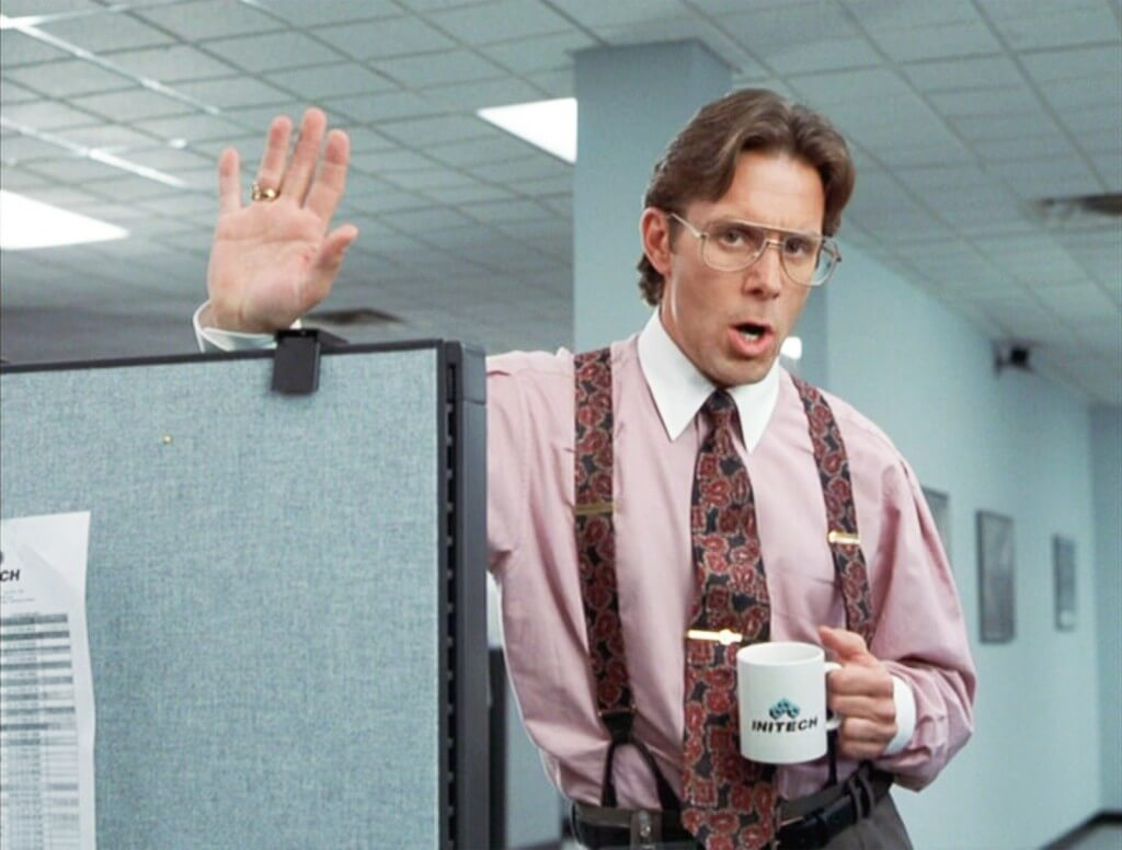 quick fix movie to watch office space image