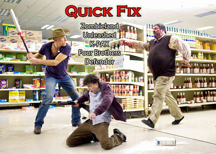 quick fix movies to watch 86-90 zombieland header