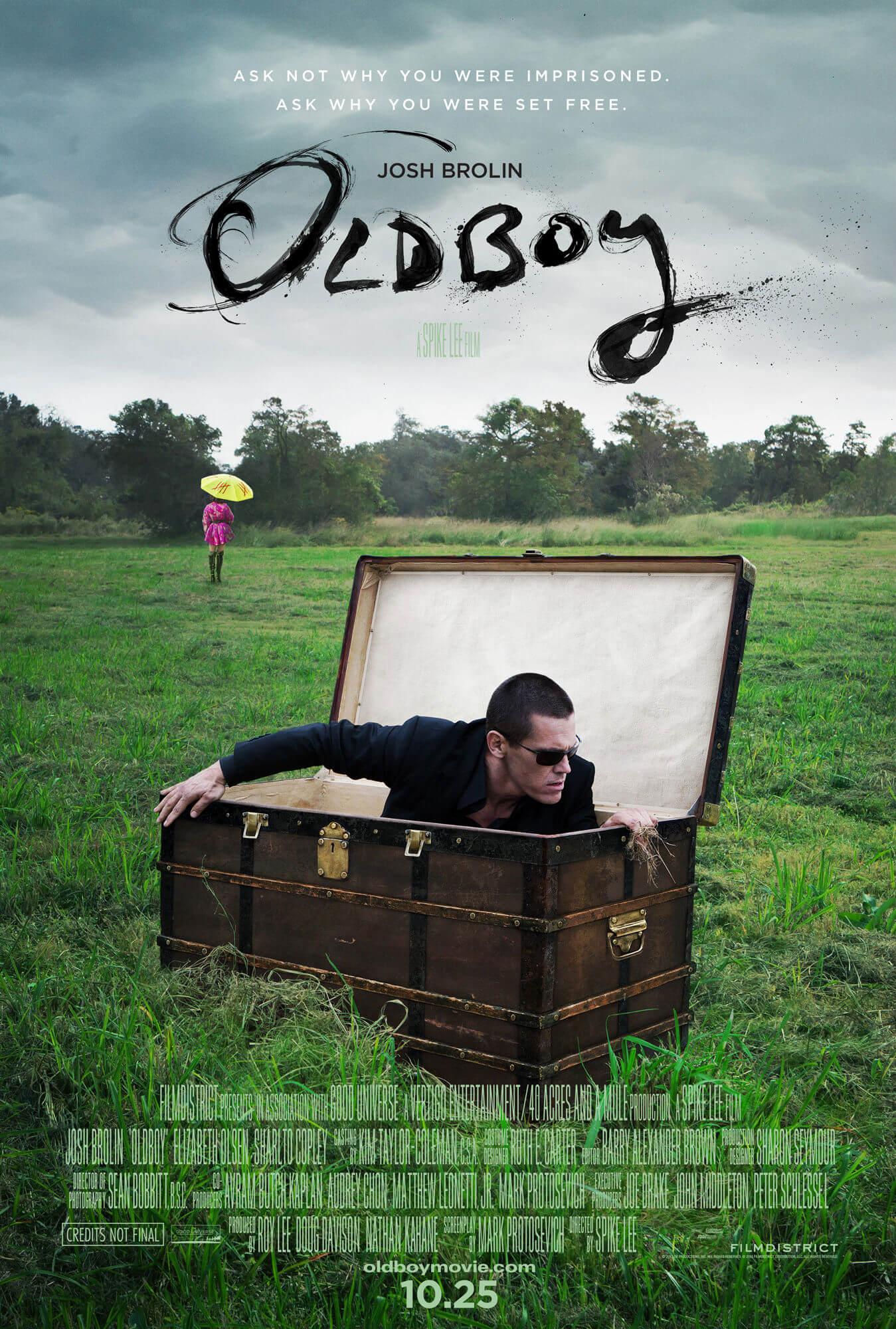spike lee's oldboy poster