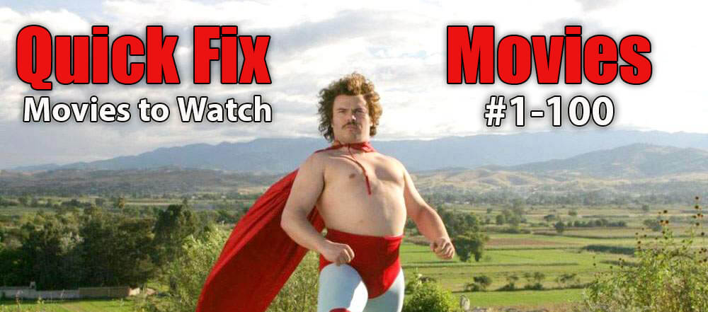 quick fix movies to watch first 100 films header image