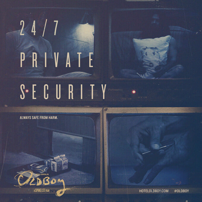 oldboy security camera viral poster