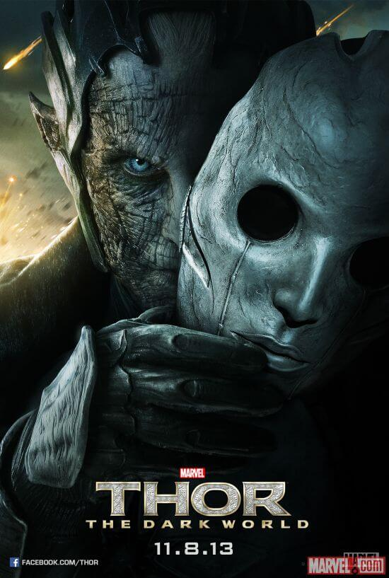 thor the dark world christopher eccleston poster
