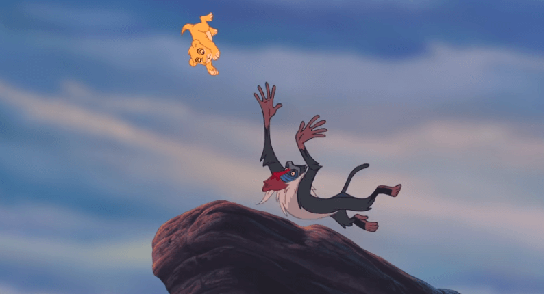 fun stuff  outtakes and bloopers from the lion king 3d
