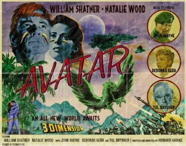 avatar vintage poster