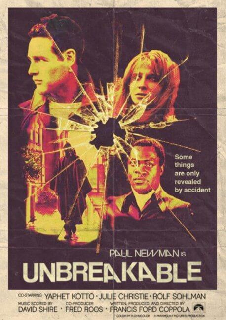 FUN STUFF: Arstist creates movie posters for vintage modern-day ...