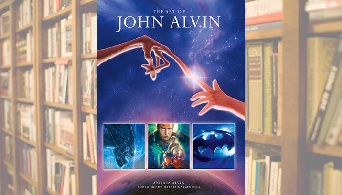 art of john alvin book cover header
