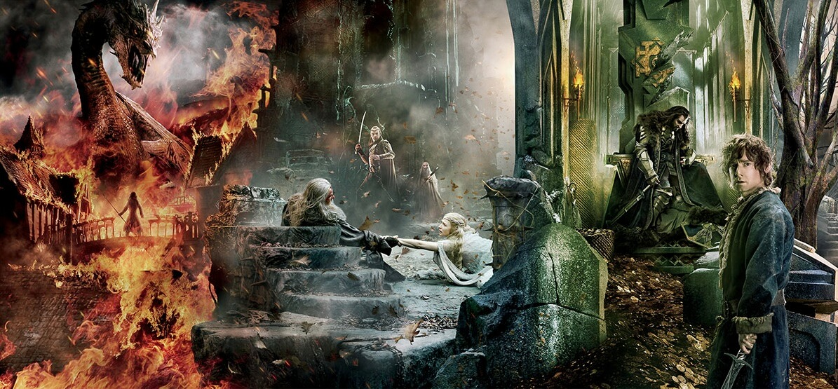 geek out epic new tapestry poster for the hobbit the