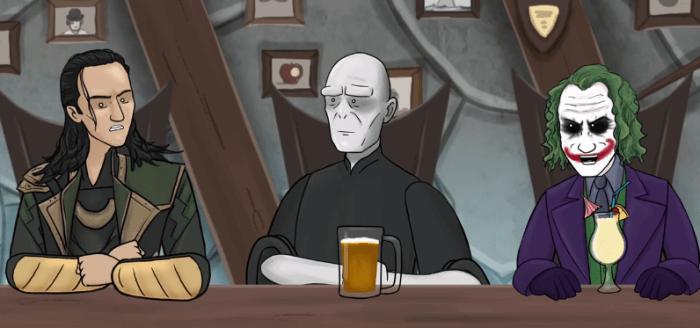 villain pub to the tailor header