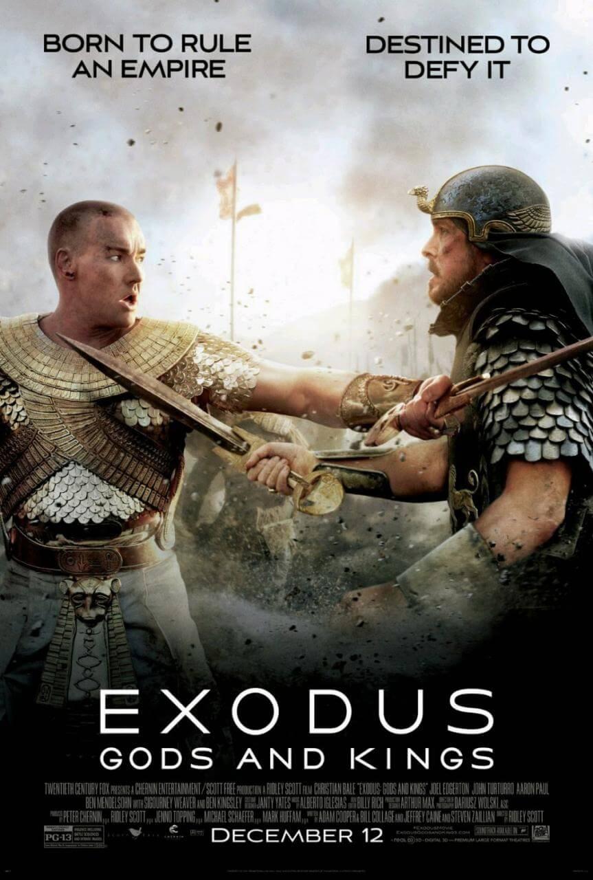exodus gods and kings edgerton & bale poster