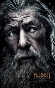 GEEK OUT! Gandolf character poster for THE HOBBIT: THE BATTLE OF THE FIVE ARMIES