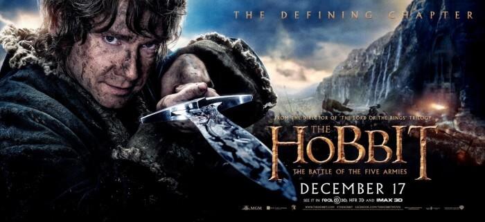 hobbit battle of five armies bilbo banner