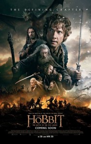 GEEK OUT! New international poster for THE HOBBIT: THE BATTLE OF THE FIVE ARMIES