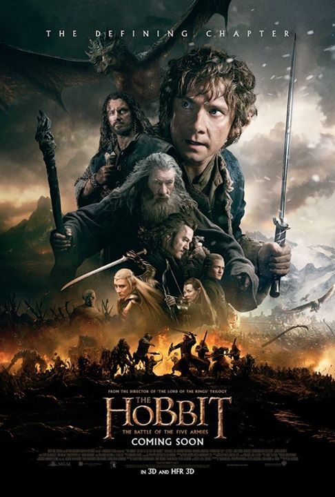 hobbit battle of five armies international poster