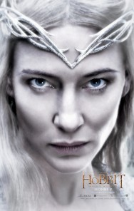 A trio of new character posters for THE HOBBIT: THE BATTLE OF THE FIVE ARMIES