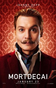 GEEK OUT! New MORTDECAI character posters