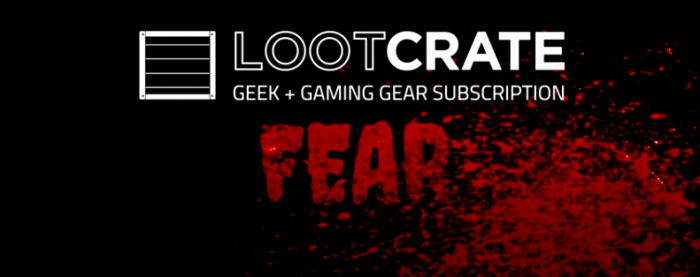 october 2014 fear loot crate unboxing header