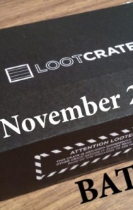 FUN STUFF: Unboxing Loot Crate's November 2014 BATTLE CRATE