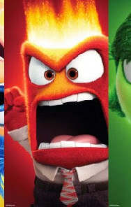 Teaser trailer and character posters for Pixar's upcoming INSIDE OUT