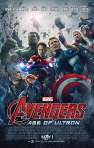 GEEK OUT! First official AVENGERS: AGE OF ULTRON poster is a messy group photo