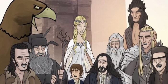 the hobbit battle of the five armies how it should have ended header