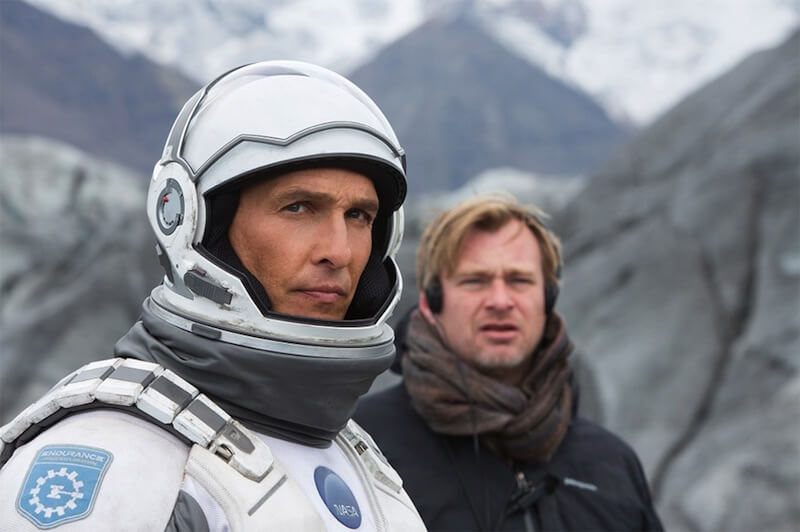 nolan and mcconaughey interstellar behind the scenes