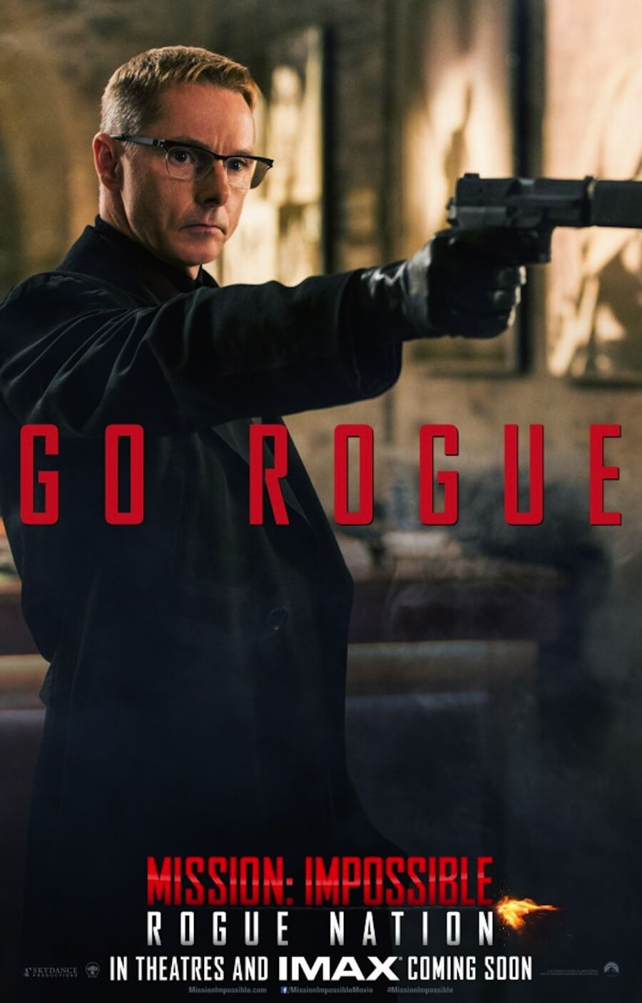 GEEK OUT! Second MISSION: IMPOSSIBLE - ROGUE NATION ...
