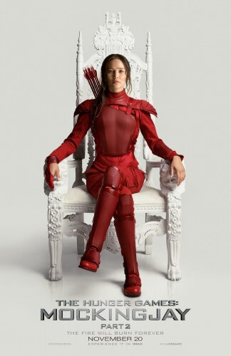 hunger games mockingjay part 2 poster jennifer lawrence