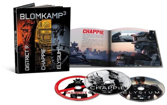 blomkamp3 chappie elysium district 9 blu ray image