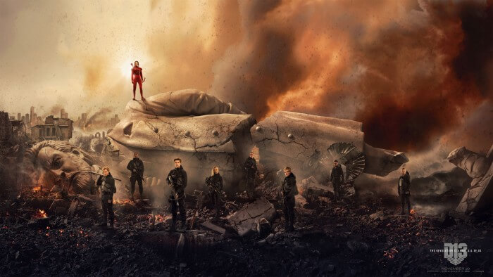 hunger games mockingjay part 2 banner poster