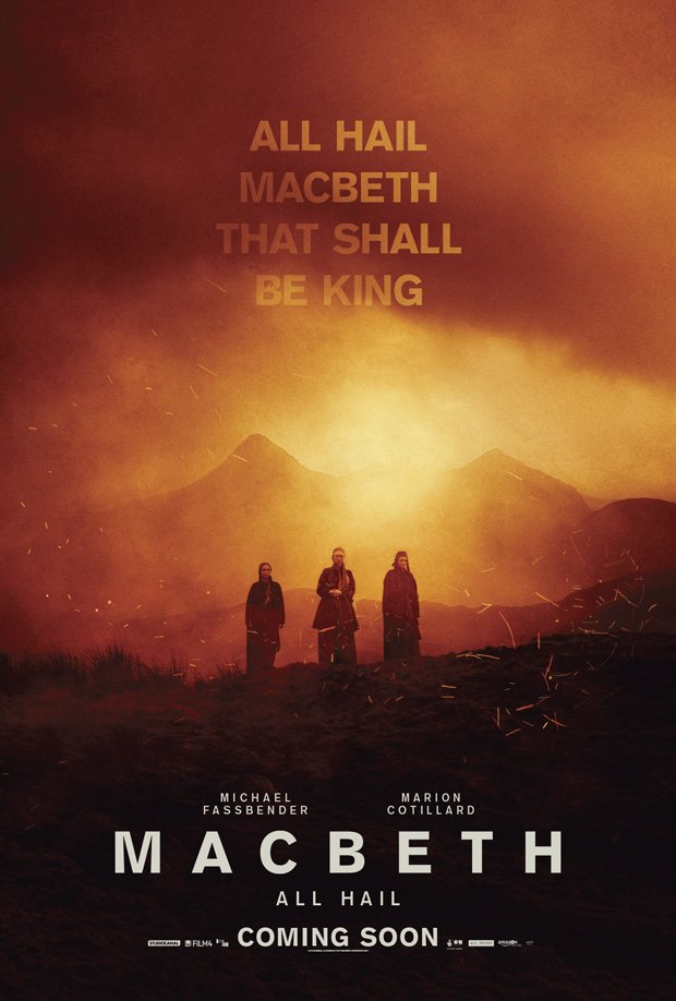 new macbeth posters have popped up over the past few weeks