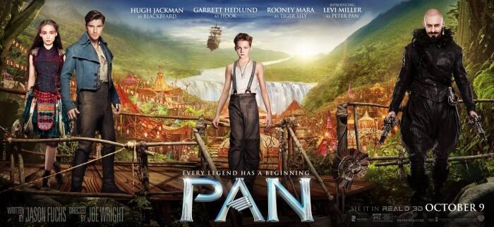 pan movie poster banner