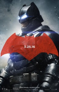 Trio of BATMAN V SUPERMAN: DAWN OF JUSTICE posters showcase the good guys