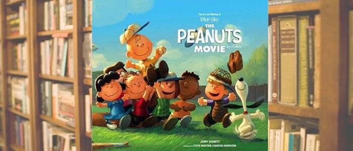 peanuts movie art book