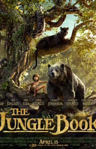 THE JUNGLE BOOK movie poster triptych was slowly revealed to showcase the main players