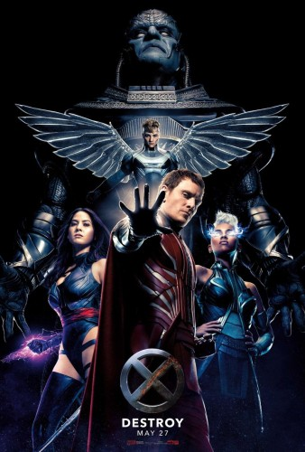 x-men apocalypse movie four horsemen poster