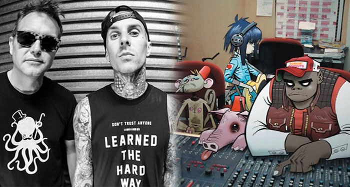 GORILLAZ and BLINK 182 working on new albums this year after long hiatus