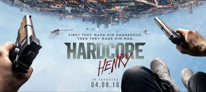 hardcore henry movie review 2016