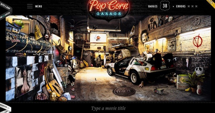 popcorn garage movie game