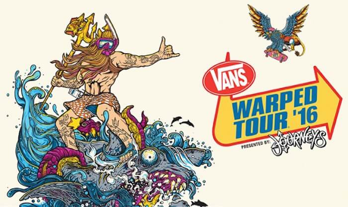 VANS WARPED TOUR 2016 blends new and old flavors into one of this summer's must-see music festival