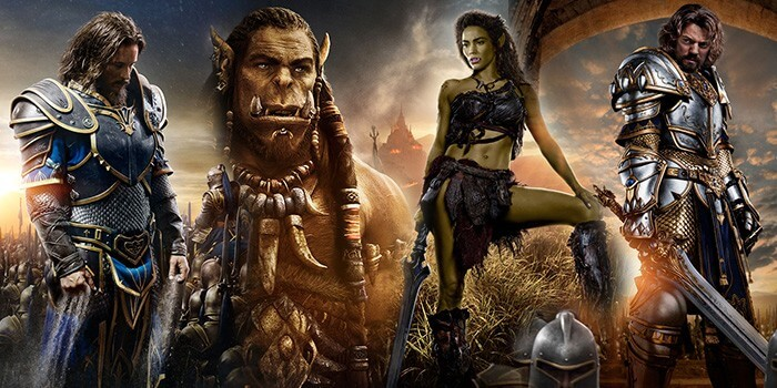 warcraft movie 2016 characte posters