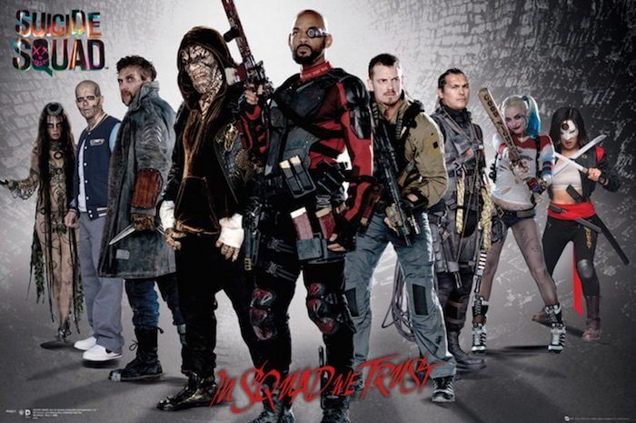 suicide squad in squad we trust movie poster